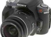 Camara dslr alpha a330 y lente 18-55 de sony