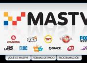 Vendo mastv full open 20 canales