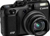 Canon g12 + adaptador original + 2 filtros super oferta!