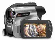 Videocamara nueva canon dc-420 de dvd con zoom 48x