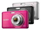 Sony cybershot dsc-w310 12.1mp 4x detecta rostros y sonrisas