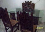 PrÁctico, rÚstico y elegante escritorio armado $2,590.00 sillÓn y dos sillas recepciÓn