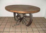 Mesas artesanales