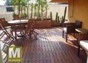 Deck-pisos de madera para exterior, mexico df, coyoacan, tlalpan, alvaro obregon