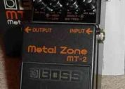 Pedal boss metal zone y guitarra jackson kelly