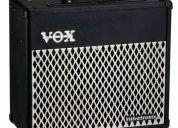 Amplificador de guitarra vox valvetronix 50 watts rms 1x12