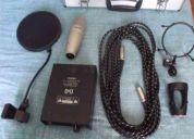 Vendo cambio microfono condenzador para estudio hosa ekipado