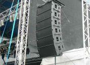 Bafles line array excelente calidad acustica