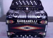 acordeon gabbanellli 5 registros de fa