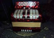 acordeon hohner corona 3 5 reguistron tono sol.
