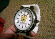 Relojes ferrari y lacoste