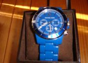 Reloj michael kors azul nuevo
