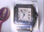 Aprobeche ecxelenete  oportunidad reloj santos de cartier  17 joyas original