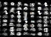 Remato 100 anillos unisex  aleaciones metalicas con chapa plata superdiseÑos
