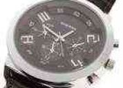 Reloj steel metalico, contra agua nuevo!!