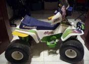 Cuatrimoto montable para Ñiños power wheels