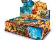Caja de sobres de warcraft de la edición war of the elements