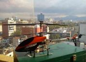 HelicÓptero volitation 9053 g2h de 66 cm cuerpo de metal muy estable para exteriores