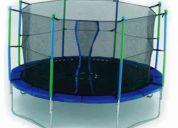Vendo trampolines nuevos de 3 metros en $2500 de 3.6 mts en $3000 y de 4.27 mts $3400.