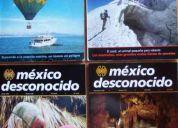 Revista méxico desconocido: 14 ejemplares enero 1990 - abril 1999 a precio de oportunidad!