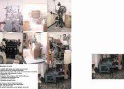 Vendo maquinaria para imprenta