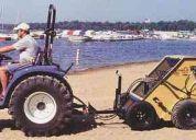 Barredoras de playa para limpieza de arena - hoteles