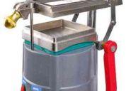 Encapsuladora manual, tampografia, termoformado, inyeccion de plastico