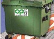 Contenedores industriales para desechos 1100 lts. oferta!