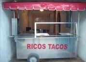 Vendo taco para tacos con 4 servicios