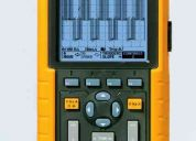 Osciloscopio  digital fluke  20 mhz modelo 123/124