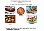 Deliciosa comida mexicana