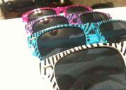 Lentes zebra wayfarer geek nerd * varios modelos y colores * envio economico * rayban 2011
