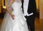 Vendo hermoso vestido de novia ¡ modelo de telenovela!