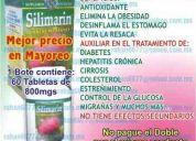 Cardo mariano (silimarina) bote 60 tabs $ 150