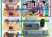 Desintoxicador de iones con infrarrojo y electroestimulador 3 en 1 profesional