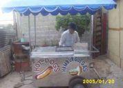 Se vende o se cambia carro de hot dog. !!urge motivo de viaje!!!