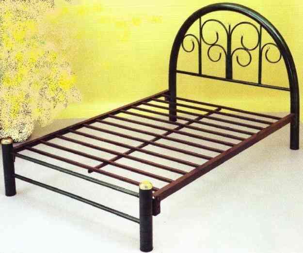 Base tubular matrimonial familiarizarse con la hermosa chica for Base para cama individual precios