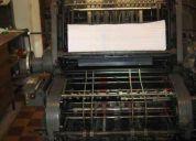Equipo de imprenta