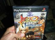 Art of fighting anthology (nuevo sellado) ps2