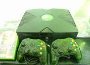 Xbox negro completisimo!!!!!