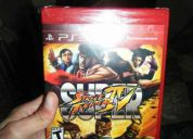 Super street fighter 4 (nuevo sellado) ps3