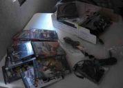 Ps2 slim con caja mas 10 juegos originales