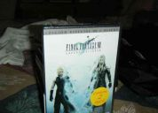 Final fantasy 7 advent children edicion especial (dvd nuevo sellado)