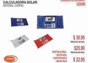 Lapicera con calculadora solar