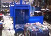 Fabricamos prensa compactadoras pacas desde 50 hasta 500 kg los mejores precios
