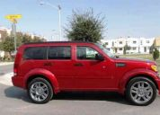 Nitro rt 07 rojo infierno 5 puertas transmisión automática 48 mil kilómetros $169.9 mil