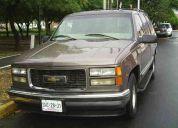 Silverado tipo tahoe mod. 98 4 puertas automatica motor vortec doble clima piel bolsa-aire