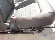 Juego asientos jetta a6 gli costuras rojas nuevos oem adap. bora