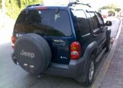 Jeep liberty 2002 sport 4x2 q/c, paquete arrastre, todo pagado
