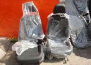 Juego asientos mk6 gli costuras rojas oem nuevos adap. bora